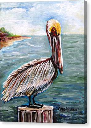 Pelican Pointe Canvas Print