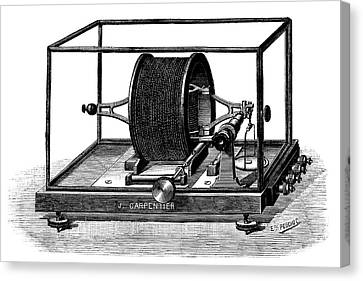 Pellat Electrodynamometer Canvas Print by Science Photo Library