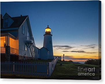 Pemaquid Dawn Canvas Print