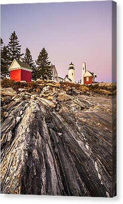 Pemaquid Dusk Canvas Print