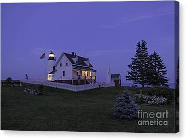 Pemaquid Point Light - Blue Hour Canvas Print