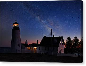 Pemaquid Point Light Canvas Print