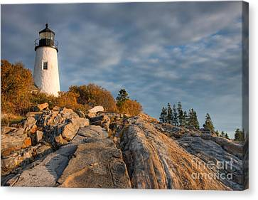 Pemaquid Point Light Vi Canvas Print by Clarence Holmes