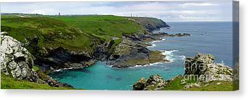 Pendeen Watch To Levant Canvas Print by Terri Waters