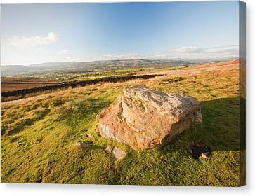 Pendle Hill Canvas Print by Ashley Cooper