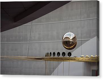 Canvas Print featuring the photograph Pendulum Sculpture by Patricia Babbitt