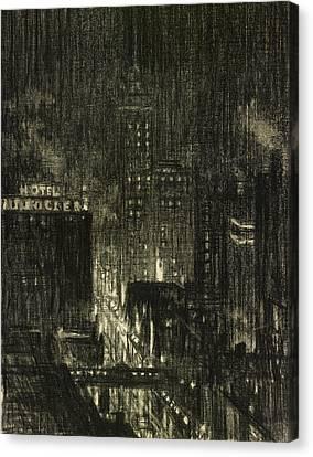 Penell Knickerbocker Canvas Print by Granger