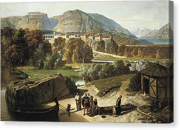 Penguilly-lharidon, Octave 1811-1870 Canvas Print by Everett