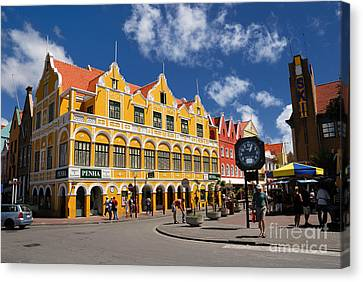 Penha And Sons Curacao Canvas Print by Amy Cicconi
