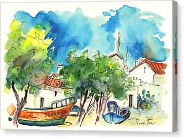 Peniche In Portugal 08 Canvas Print by Miki De Goodaboom