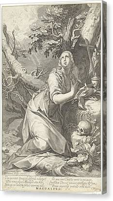 Penitent St. Mary Magdalene Canvas Print by Quint Lox
