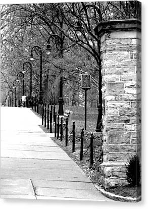 Penn State Campus  Canvas Print by Mary Beth Landis