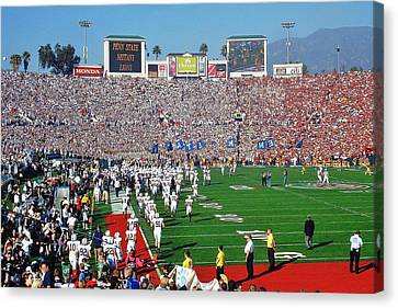 Penn State Rose Bowl Canvas Print by Benjamin Yeager