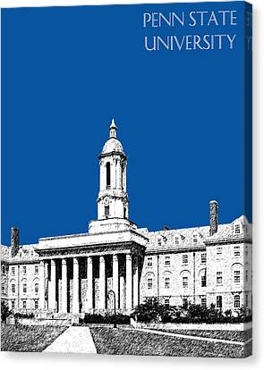 Penn State University - Royal Blue Canvas Print by DB Artist