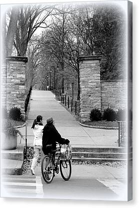 Penn State University Transportation Canvas Print by Mary Beth Landis