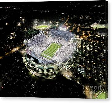Penn State Canvas Print - Penn State Whiteout by Amesphotos