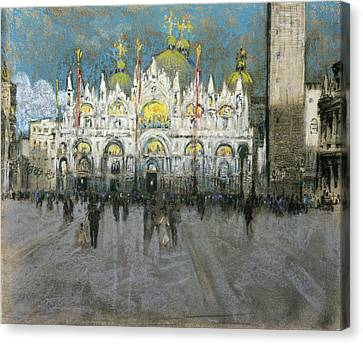 San Marco Canvas Print - Pennell Venice, C1903 by Granger