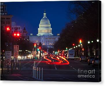 Pennsylvania Avenue Canvas Print