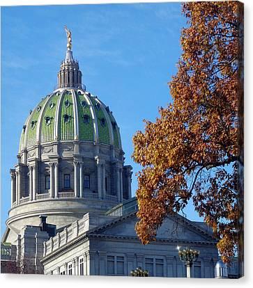 Pennsylvania Capitol Building Canvas Print by Joseph Skompski