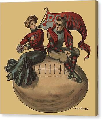 Pennsylvania Football Canvas Print