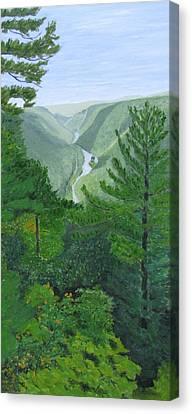 Pennsylvania Grand Canyon Canvas Print