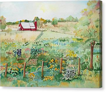 Pennsylvania Pasture Canvas Print