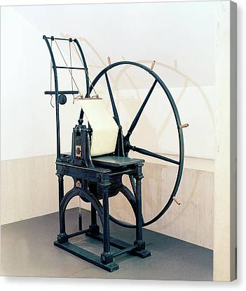 Penny Black Stamp Press Canvas Print by British Library