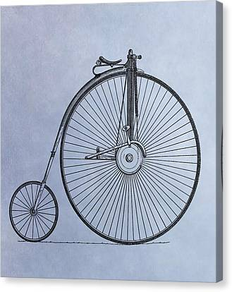 Penny Farthing Bicycle Canvas Print by Dan Sproul