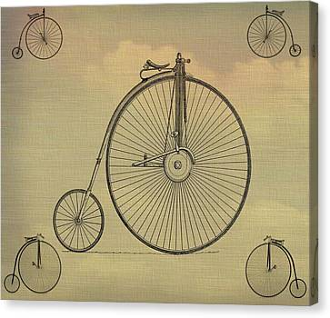 Penny Farthing Poster Canvas Print by Dan Sproul