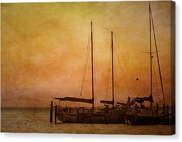 Pensacola Harbor Canvas Print