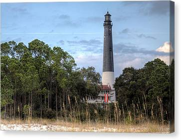 Pensacola Lighthouse Canvas Print by JC Findley