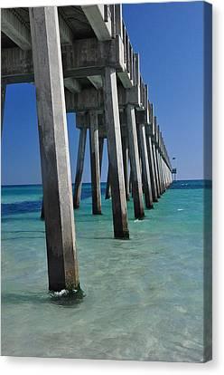 Pensacola Pier Canvas Print