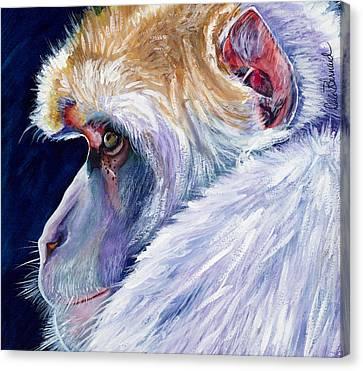 Pensive Canvas Print by Dale Bernard