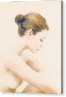Pensive Canvas Print by Gun Legler