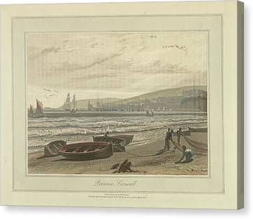 Penzance Canvas Print by British Library