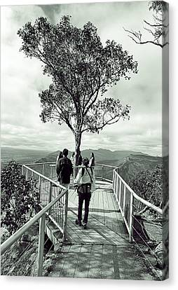 People View Point Canvas Print by Girish J