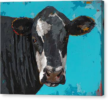 People Like Cows #8 Canvas Print by David Palmer
