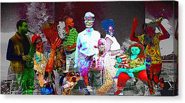 People Of Color Canvas Print by Keven Reynolds