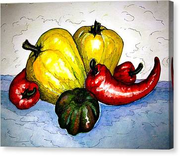 Pepper Diversity Canvas Print