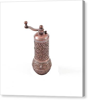 Pepper Grinder Canvas Print by Tom Gowanlock