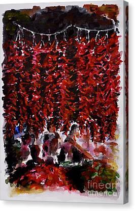 Pepper Canvas Print by Zaira Dzhaubaeva