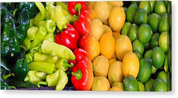 Peppers To Pucker Canvas Print