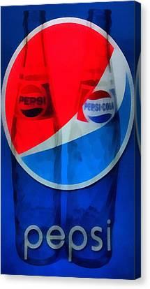 Pepsi Cola Canvas Print by Dan Sproul