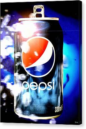Pepsi Canvas Print