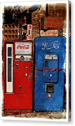 Pepsi Canvas Print by Mary Machare