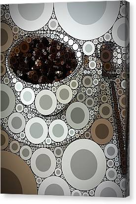 Percolated Canvas Print