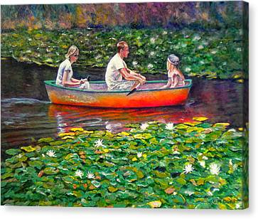 Perfect Afternoon Canvas Print by Michael Durst