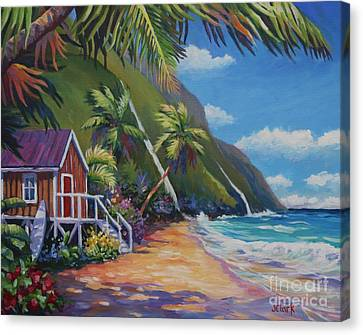 Oahu Canvas Print - Perfect Day by John Clark