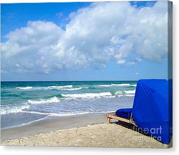 Canvas Print featuring the photograph Perfect Day by Margie Amberge