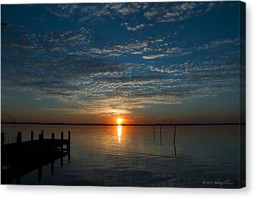 Canvas Print featuring the photograph Perfect Ending by Kathy Ponce